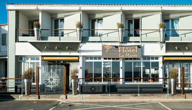 Hotel de la Maree - Ile de Re - NEW Front