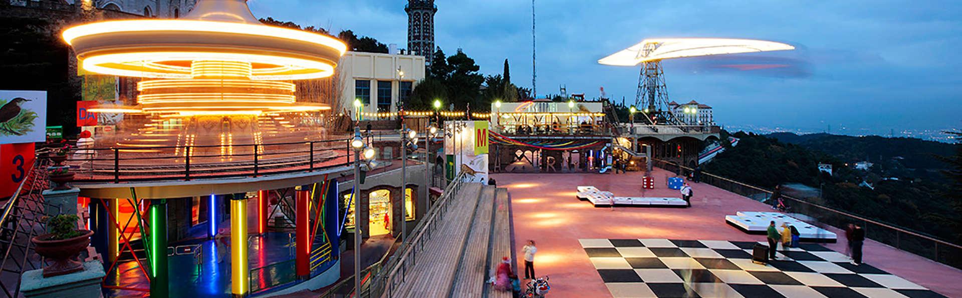 Escapada en Barcelona con entradas al parque de atracciones Tibidabo