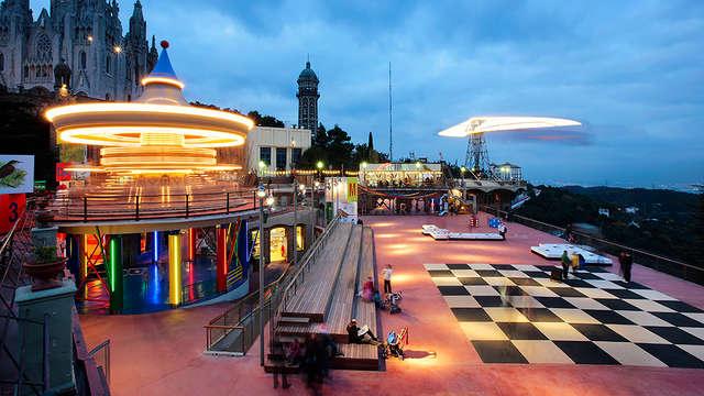 Descubre Barcelona y uno de sus lugares emblemáticos, el Tibidabo (desde 2 noches)