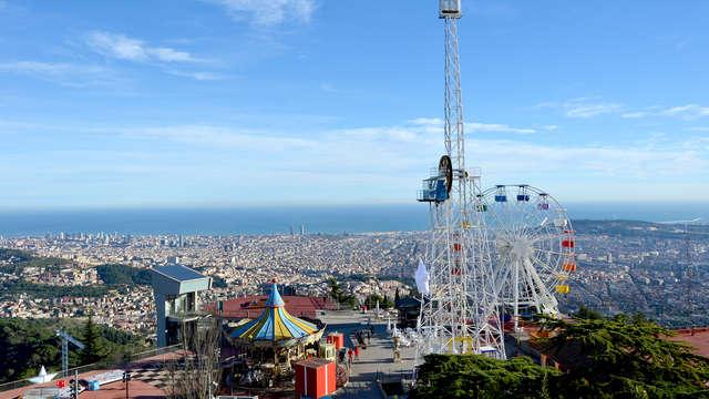 Hotel a Barcellona con ingresso al parco divertimenti Tibidabo