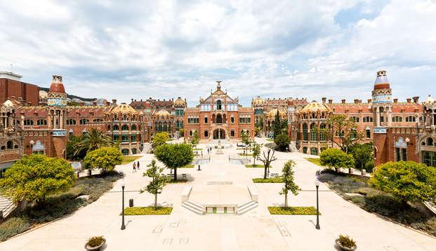 Découvrez Barcelone avec une entrée à l'enceinte moderniste de Sant Pau