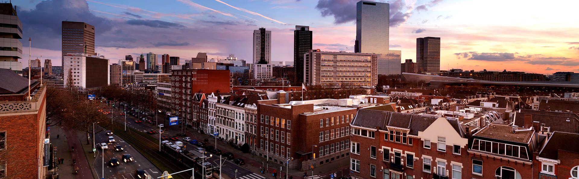 Citytrip in een gloednieuw hotel in het centrum van Rotterdam