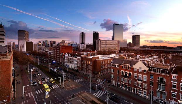 Citytrip dans un nouvel hôtel au centre de Rotterdam