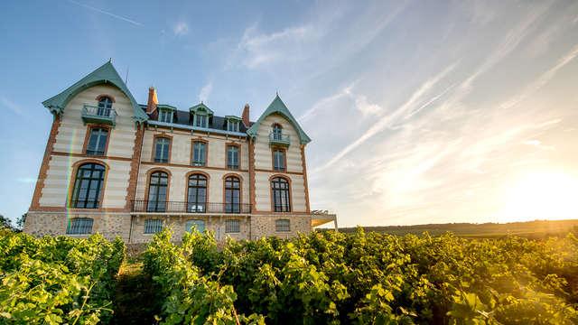 Uitzonderlijk verblijf in de buurt van Reims met bezoek aan de wijnkelders