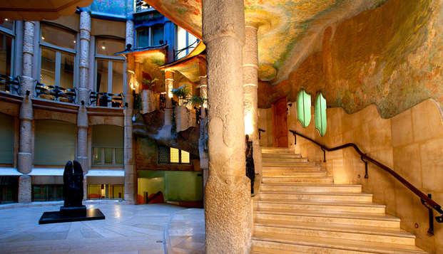 Escapada a Barcelona con cena y entradas a la Pedrera