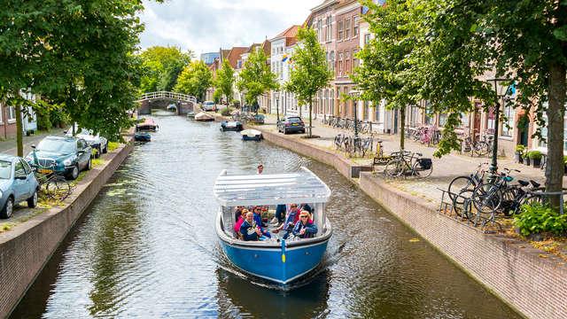 Rondvaart en dagspecial in hartje Leiden (vanaf 2 nachten)