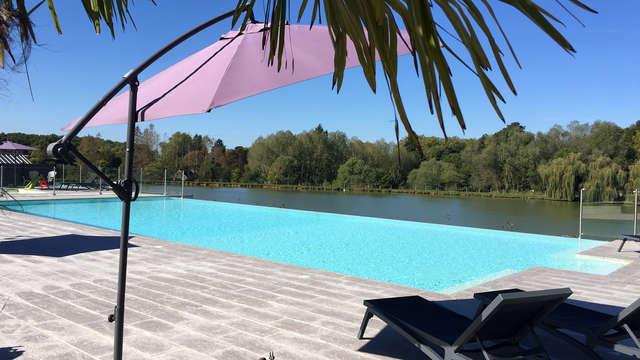 Weekend insolite avec accès spa en plein nature au centre de la France