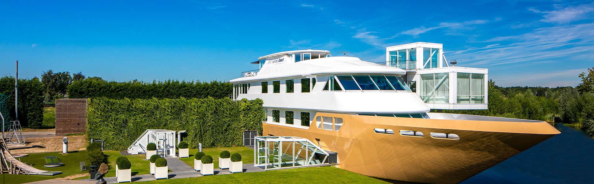 Lâchez prise sur un bateau aménagé en centre de bien-être dans le Brabant (NL)