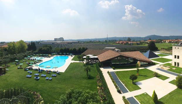 Relax en una magnífica villa entre Verona y el lago de Garda (no reembolsable)