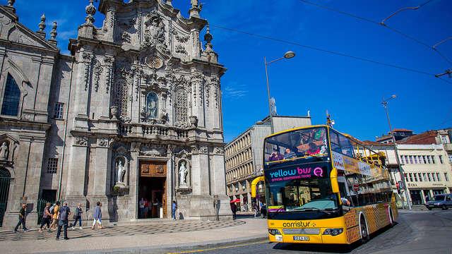 1 Hop-On Hop-off Oporto para 2 adultos