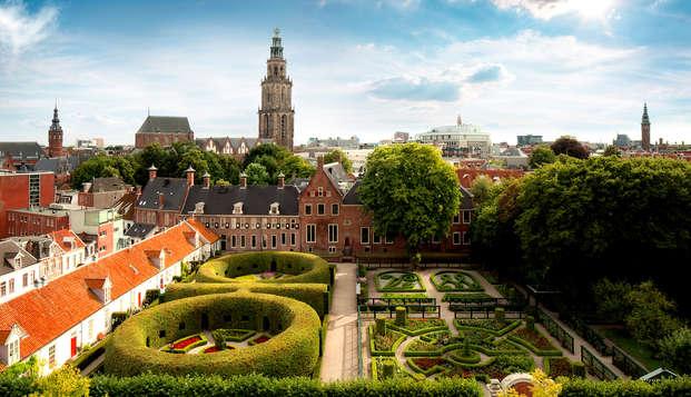 Ontdek Groningen en beklim de Martinitoren (vanaf 2 nachten)