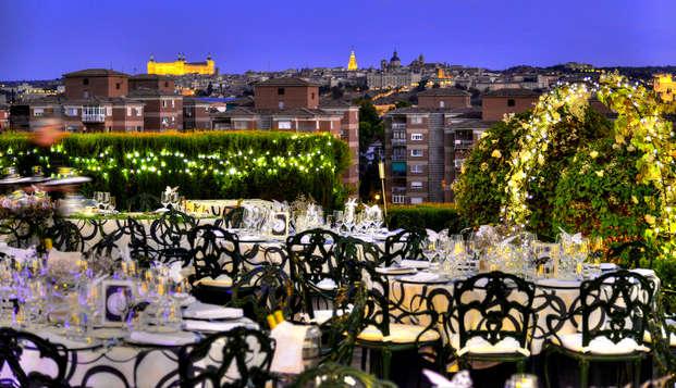 Escapada Romántica con Cena, Spa y vistas a Toledo