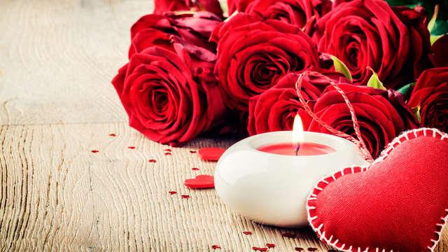 Especial San Valentín: Escapada Romántica en Sanxenxo con bombones, vino espumoso y mucho más