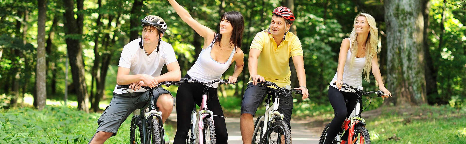 Dîner et balade à vélo autour de la forêt près d'Amersfoort (à partir de 2 nuits)