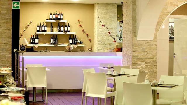 En el corazón de Palermo, una estancia con una cena de calidad