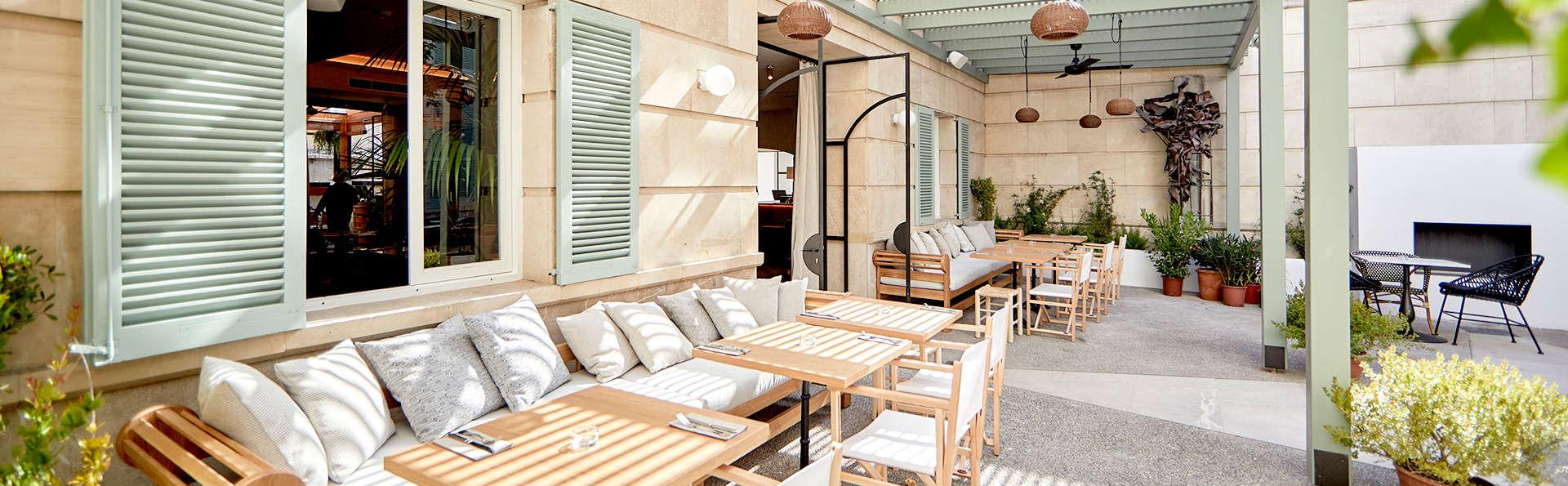 Escapada con encanto en un hotel boutique en pleno centro de Palma de Mallorca