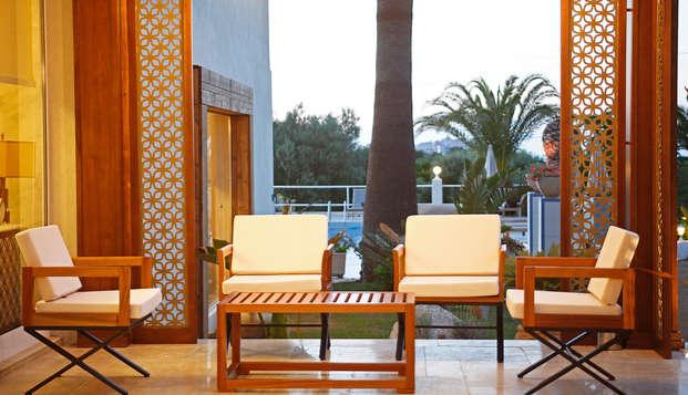 Hotel Corsica - new terrace