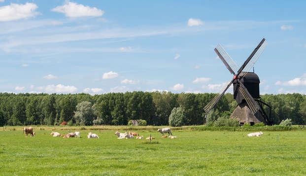 Ontspanning en rust midden in natuurgebied de Maashorst