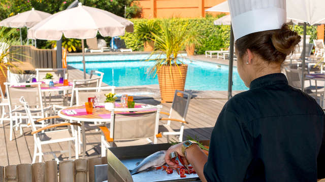 Mercure Hyeres Centre - new terrrace bbq