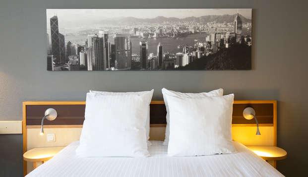 Hotel Rotterdam - new room