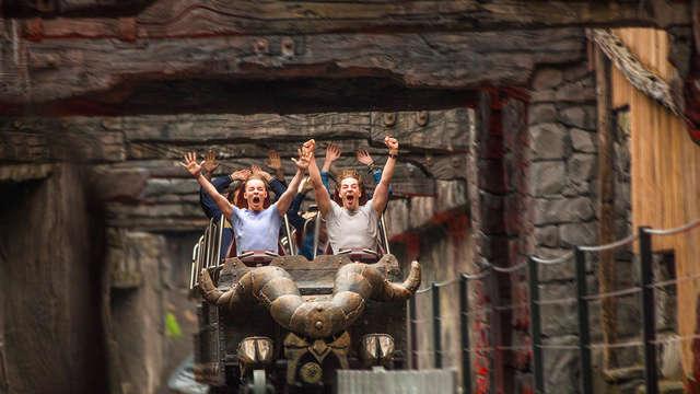 Descubre el famoso parque de atracciones Phantasialand y alójate en la ciudad cultural de Düren