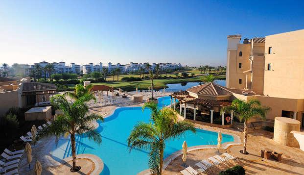 Escapada relax en este Resort 5* del Mar Menor (desde 2 noches)