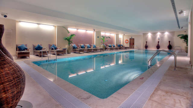 Piscina de relajación del spa (día 1 y día 2)