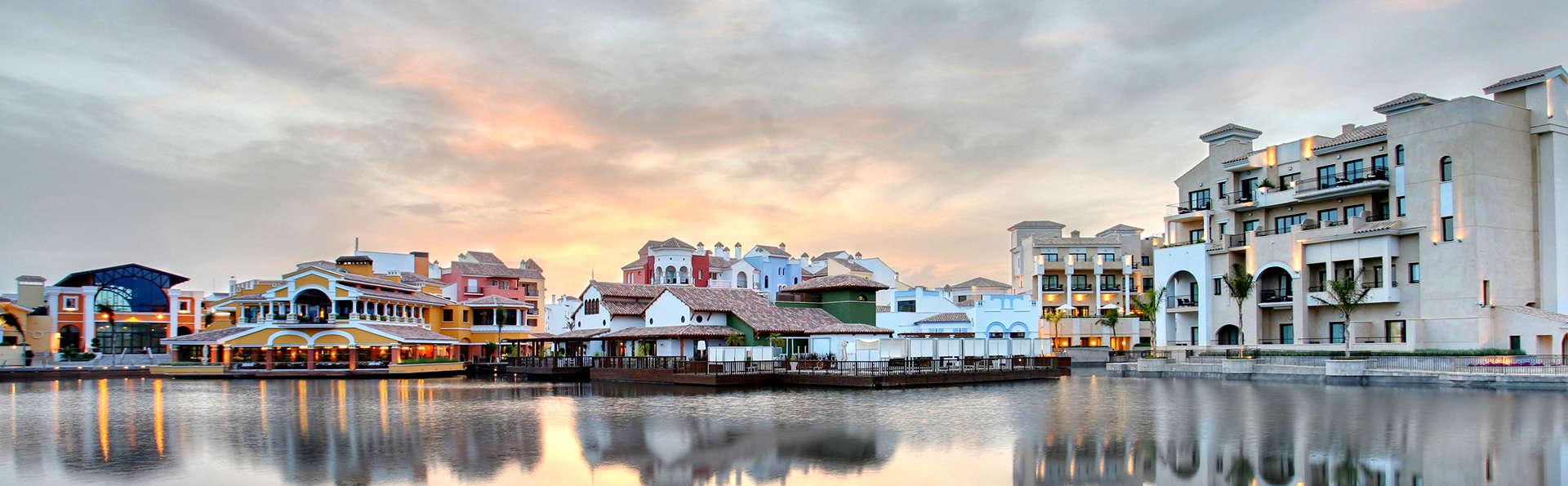Escápate a este tranquilo resort con desayuno incluido en Torrepacheco, en el mar menor