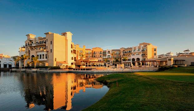 Relájate en un Resort 5* con spa al lado de la Manga del Mar Menor, Murcia