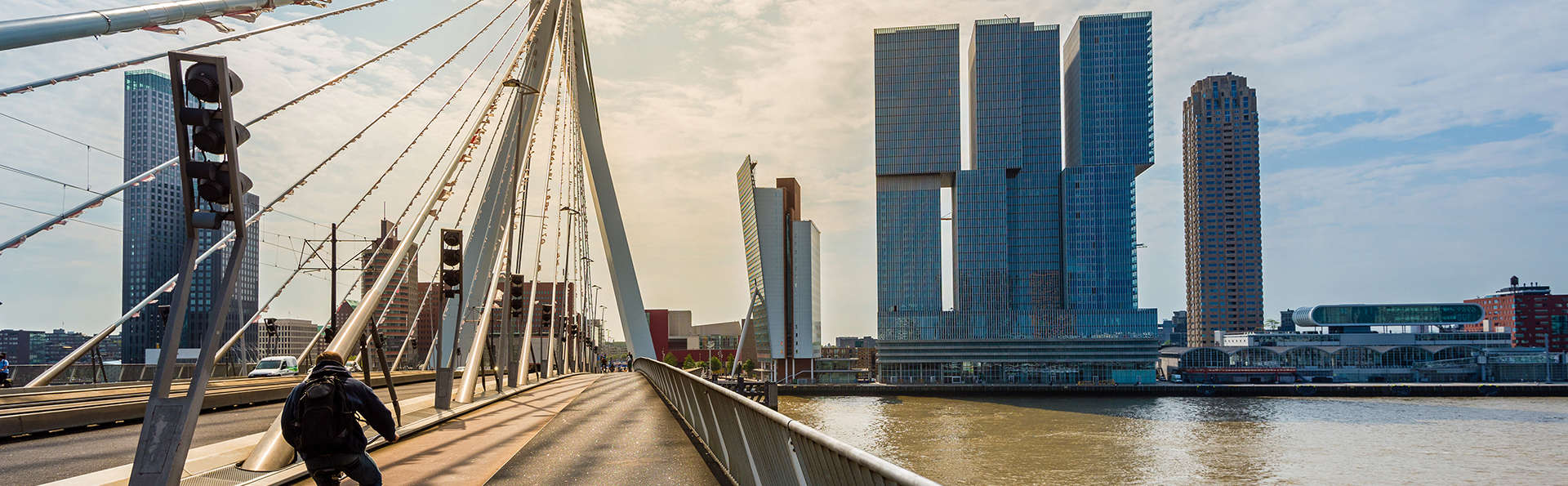 Week-end dans la ville animée de Rotterdam