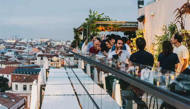 Séjour dans un nouvel hôtel boutique avec vue sur la Place d'Espagne