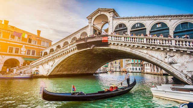 En el corazón de la pintoresca Venecia para una estancia familiar