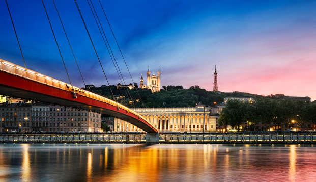 Séjour à Lyon avec accueil gourmand !