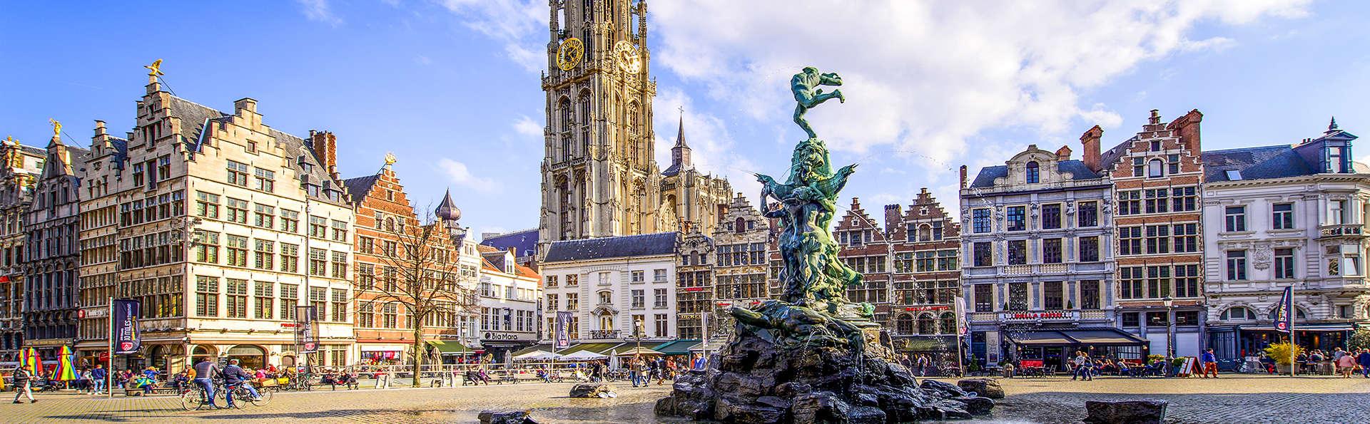 Séjournez dans un hôtel prestigieux au cœur d'Anvers (à partir de 2 nuits)