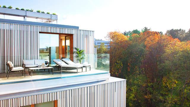 Lujo y Romanticismo en un exclusivo hotel de estilo escandinavo en San Sebastián