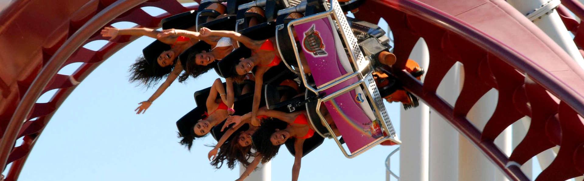 Velocidad y adrenalina en el Rainbow MagicLand! Con estancia en Roma