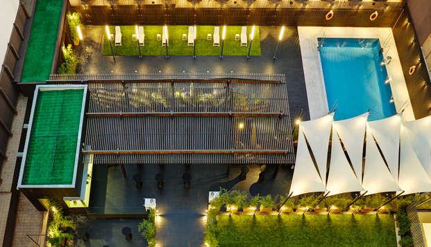 Madrid 4 * con colazione in un moderno hotel vicino all'aeroporto
