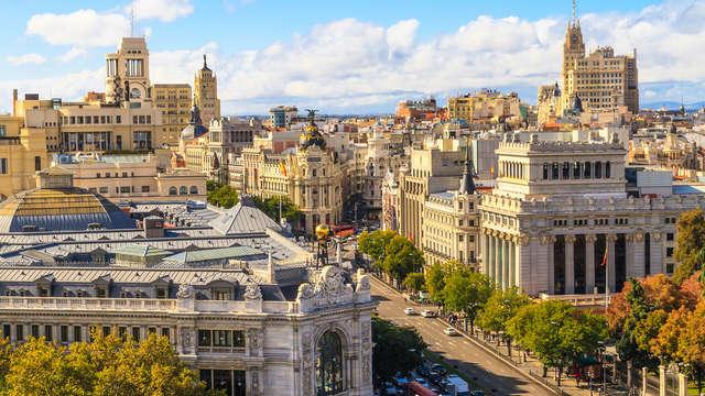 City trip à Madrid dans un 4* avec visite guidée de la ville en bus et spectacle de flamenco