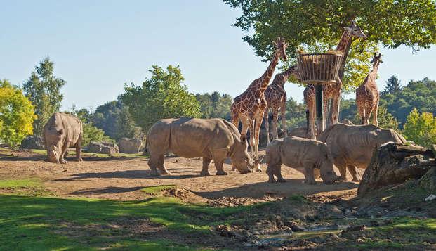 Détente au cœur de la Vallée de la Loire avec entrées au ZooParc de Beauval