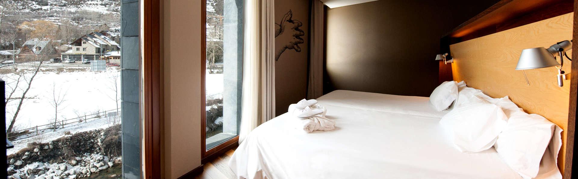 Relax con spa en un 4* y vistas maravillosas al valle de Benasque