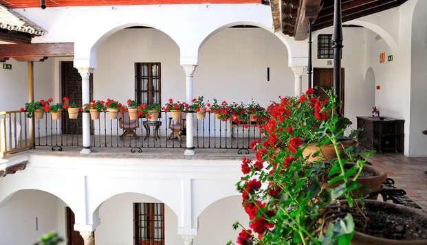 Velada romántica en una espectacular junior suite en Sevilla