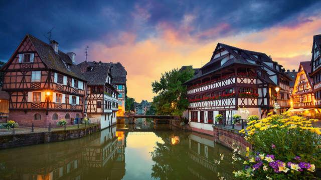 Ambiance authentique à Strasbourg