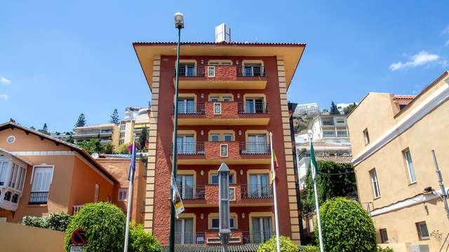 Détente dans un quartier tranquille et résidentiel à Malaga
