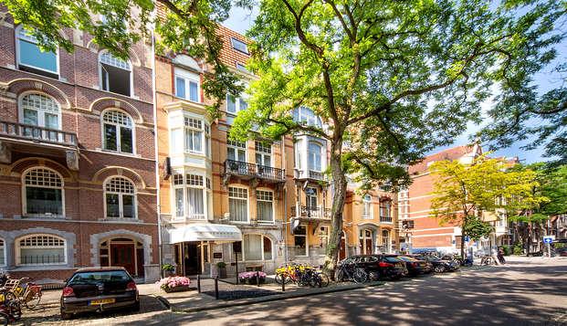 Paz y lujo en una auténtica mansión a la vuelta de la esquina del Rijksmuseum