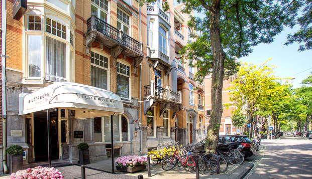 Alójate en una antigua mansión en el corazón de Ámsterdam