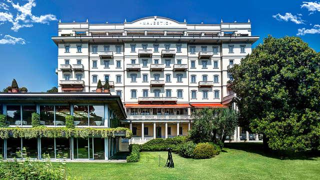 Séjournez dans un élégant hôtel 4* sur le lac Majeur avec accès au centre de bien-être