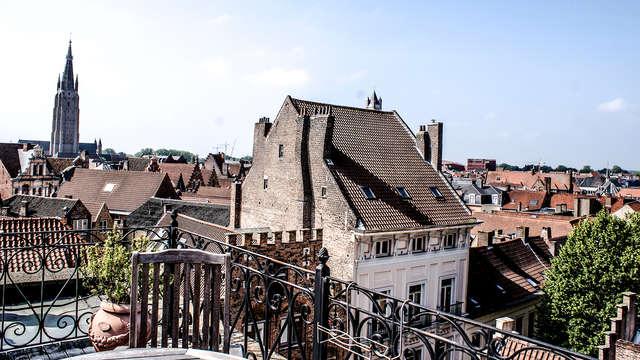 Luxe, charme et histoire dans le centre de Bruges