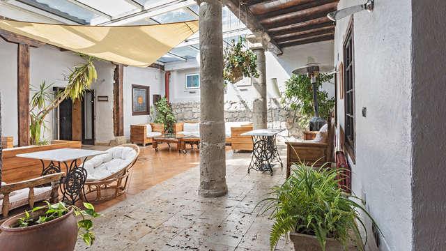Escapada irresistible: cena y acceso al spa en este reformado hotel en Ampudia (desde 2 noches)