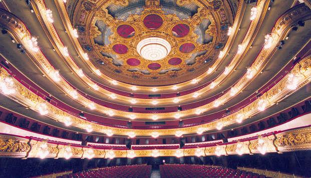 Mini vacanza in centro città con ingresso al Gran Teatro Liceo di Barcellona