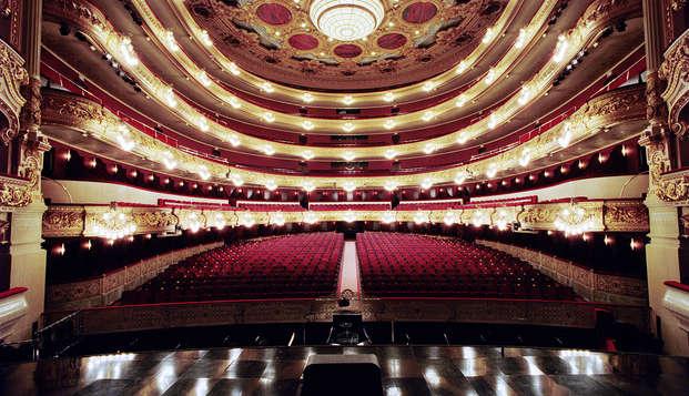 Escapada a Barcelona con entradas para una visita al Gran Teatro Liceo de Barcelona